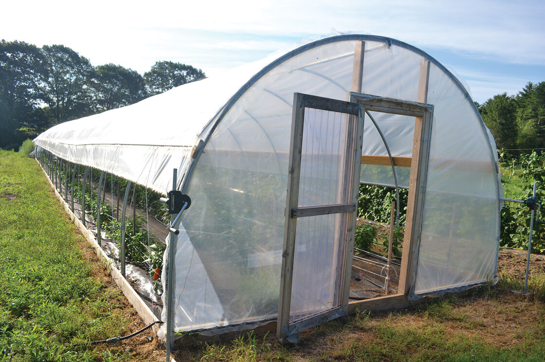 Citaten Hoop House : High tunnel  wide quick hoops™ bender johnny s