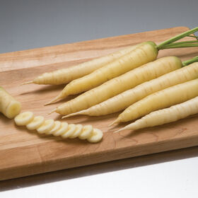 White Satin Main Crop Carrots
