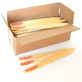 Wooden Garden Labels - Box of 100 (Natural w/Logo)
