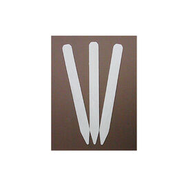 Wooden Garden Label White Treated - Pkg. of 12